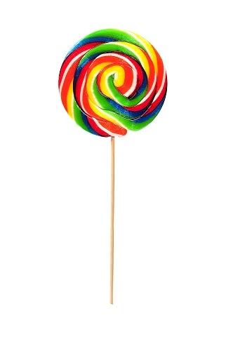 Best Candy Lollipop Round 30 gr