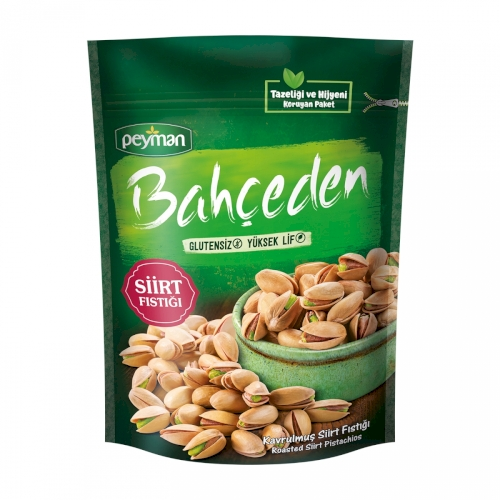 Peyman Bahceden Roasted Siirt Pistachios Gluten Free 110g